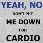 Why Weight Training and NOT Cardio?